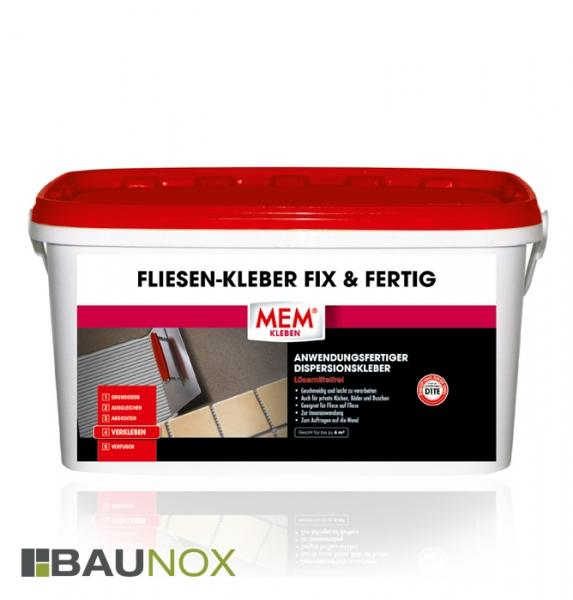 MEM FLIESEN-KLEBER FIX&FERTIG - anwendungsfertiger Dispersionskleber für Fliesen uvm.