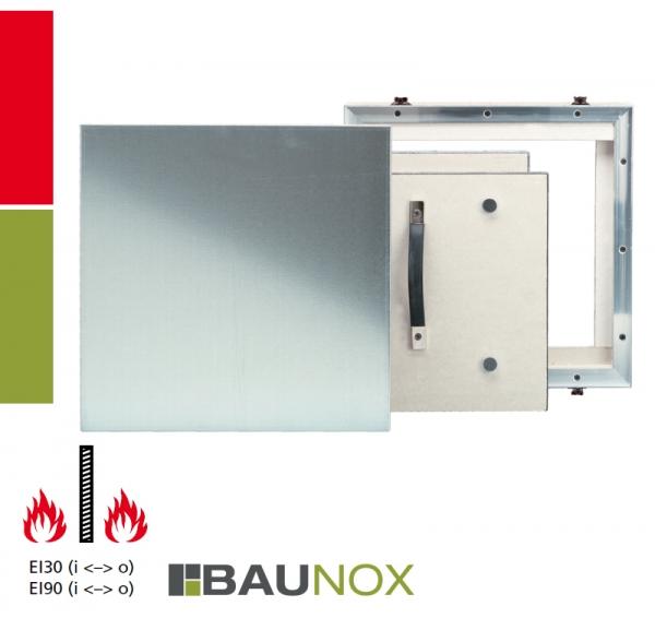 AluRapid® EI/I30 oder EI/I90 Revisionstür für Montage in Schachtwandsysteme, Installationsschachtwände, Vorsatzschalen oder Massivwände