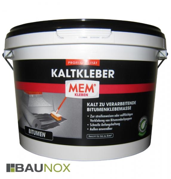 MEM PROFI-KALTKLEBER - Kalt zur verarbeitendende Bitumenklebemasse - 3 kg