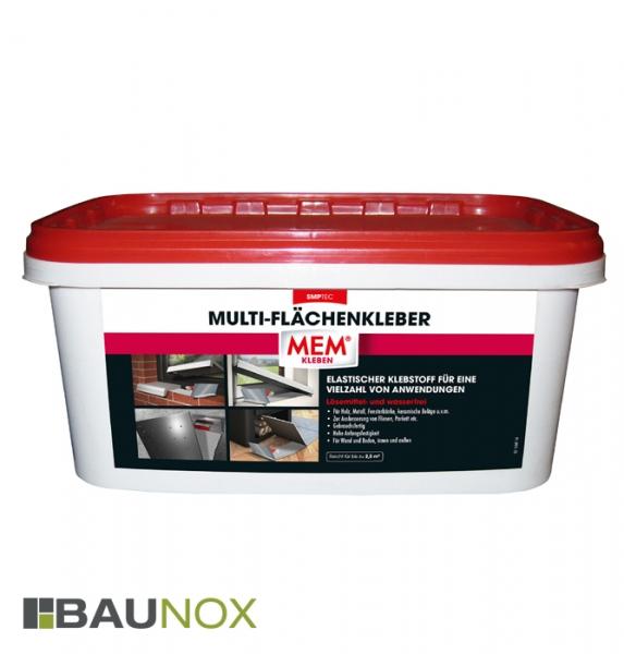 MEM MULTI-FLÄCHENKLEBER ist ein universell einsetzbarer Klebstoff, z.B. für Fensterbände, Metall, Fliesen uvm.