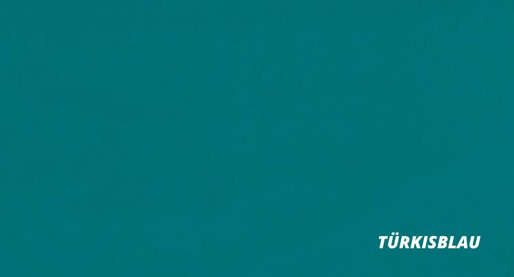türkisblau