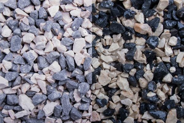 Mix ZEBRA - Blackstone und Jona - für Wege, Einfahrten, Parkplätze oder Beetanlagen 8-11 mm