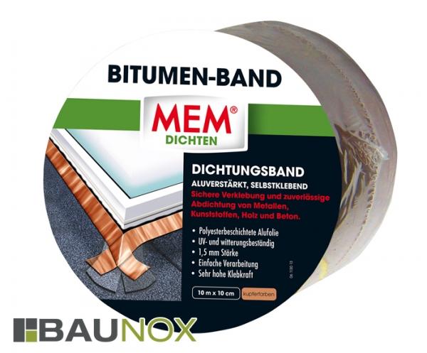 MEM BITUMEN-BAND - Dichtungsband 10cm x 10m