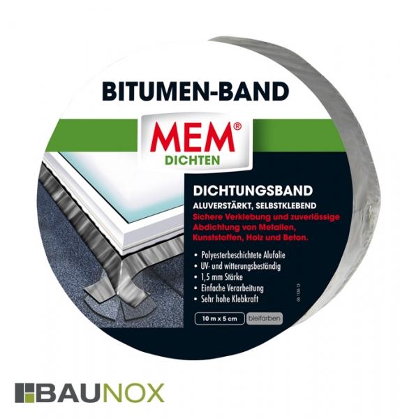 MEM BITUMEN-BAND - Dichtungsband 5cm x 10m