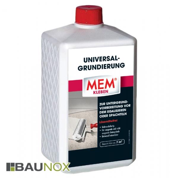 MEM UNIVERSAL-GRUNDIERUNG - Universell einsetzbare Untergrundvorbereitung - 1 Liter