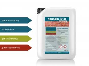 Baunox AQUASIL N40 - Fassadenschutz - 25 Liter