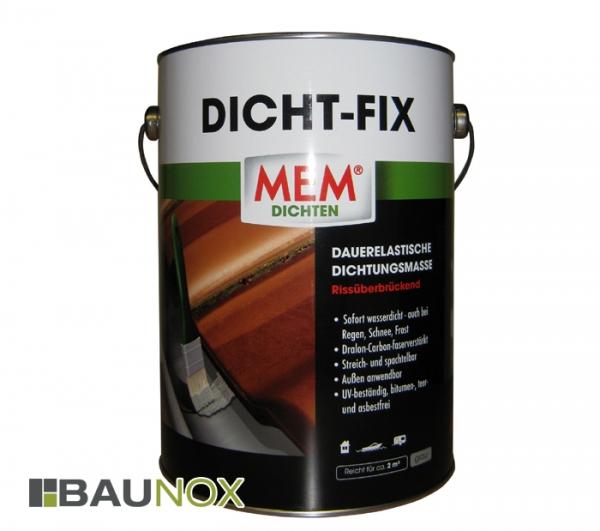 MEM Dicht-Fix Dichtungsmasse ist sofort wasserdicht und dauerelastisch - 4 Liter