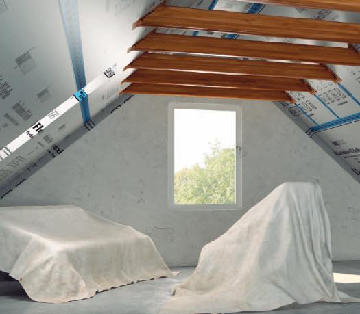 Knauf_Insulation_LDS_Flex_Plus_Dachbodenausbau_Balkendecke_Innenausbau