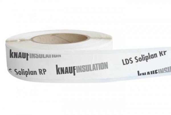 Knauf Insulation LDS Soliplan RP Reparaturpflaster zur Überklebung von Rissen, Löcher oder Tackerklammern