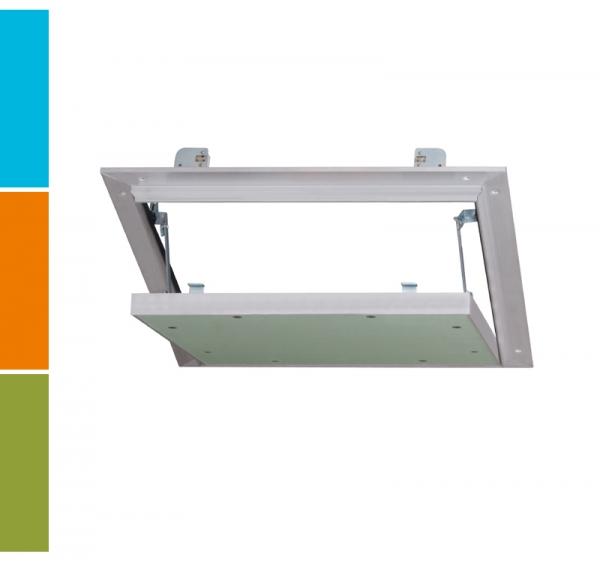 Luft- und Staubdichte AluMatic Revisionsklappe für die Decken- und Wandmontage