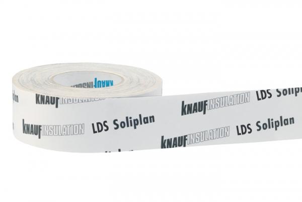 Knauf Insulation LDS Soliplan Klebeband für Überlappungen von Dampfbremsbahnen