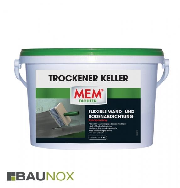 Lieblings MEM TROCKENER-KELLER - Die flexible Wand- und Bodenabdichtung &GQ_51