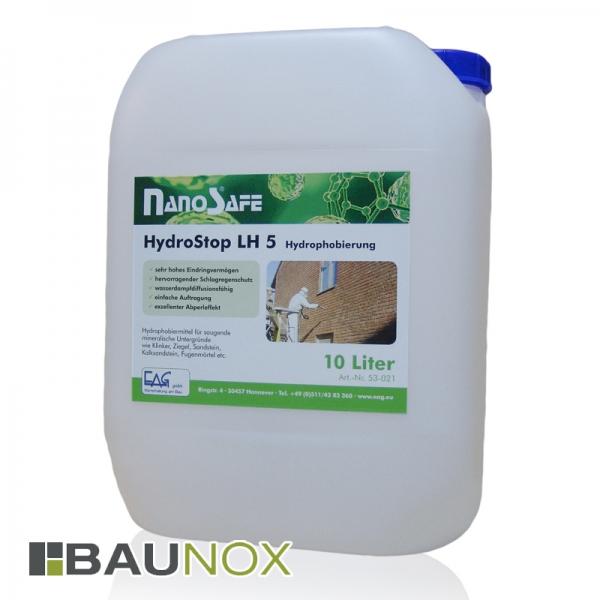 EAG NanoSafe® HydroStop LH 5 - Hydrophobierung