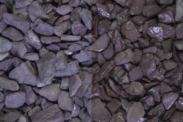 Violetta Zierkies / Ziersplitt für Wege, Einfahrten, Parkplätze oder Beetanlagen 9-14 mm