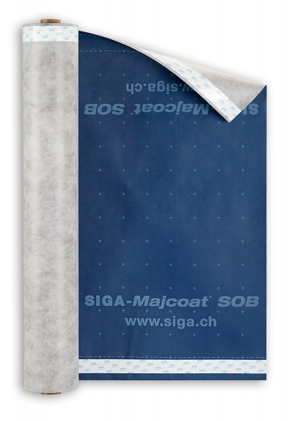 SIGA Majcoat SOB Unterdeckbahn mit integrierter Doppelklebezone