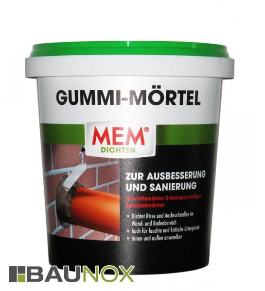 MEM Gummi-Mörtel - Spezialmörtel