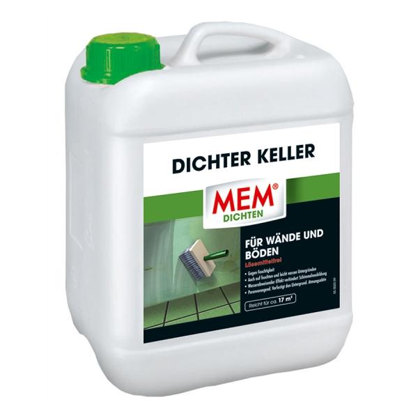 MEM DICHTER KELLER - zur Abdichtung von feuchten und leicht nassen Wänden oder Böden
