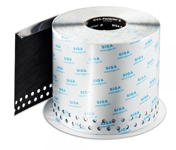 SIGA Fentrim 2 200 mm - Luftdichtes Klebeband mit Einputz-Zone für Fenster- und Türrahmen im Aussenbereich