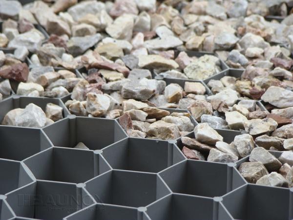 Gravel Fix® Pro - Splittstabilisator, Kiesmatte und Rasengitter für Kiese und Splitt