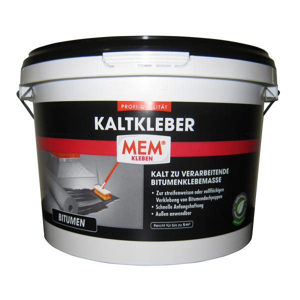 MEM PROFI-KALTKLEBER - Kalt zur verarbeitendende Bitumenklebemasse - 3kg