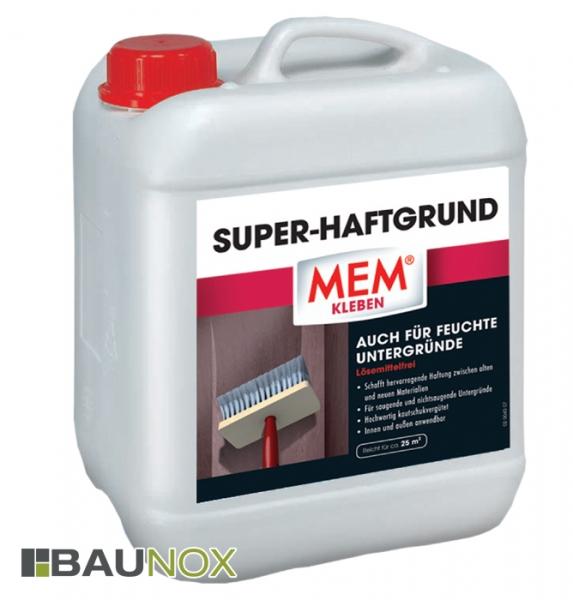MEM SUPER-HAFTGRUND - Haftvermittler zwischen alten und neuen Materialien - 5 Liter