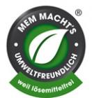 MEM_loesemittelfrei_umweltfreundlich_Plakette