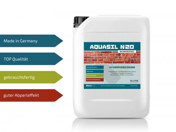 Baunox AQUASIL N20 - Tiefenimprägnierung für Beton