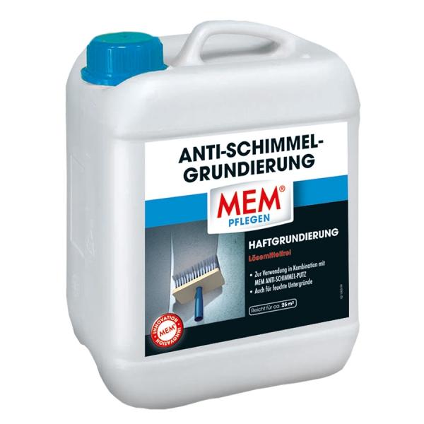 MEM ANTI-SCHIMMEL-GRUNDIERUNG - Haftgrundierung bei Neuverputzung gegen Schimmel