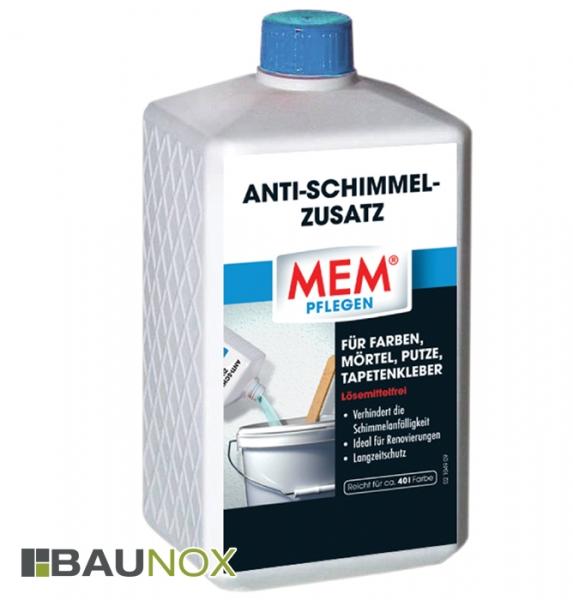 MEM ANTI-SCHIMMEL-ZUSATZ - Für Farben, Mörtel, Putze und Tapetenkleber