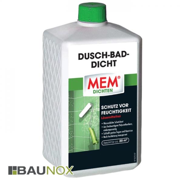 MEM DUSCH-BAD-DICHT ist der nachträgliche Schutz im Nasszellenbereich