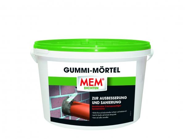 MEM GUMMI-MÖRTEL ist der Spezialmörtel zur Ausbesserung und Sanierung