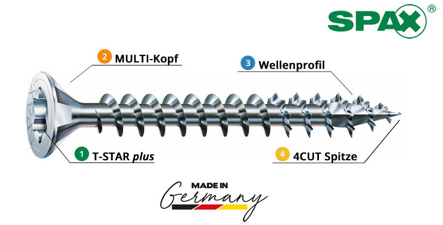 SPAX_Spanplattenschrauben_Holzschrauben_Terrassenschrauben_Onlineshop_Universal_Baunox
