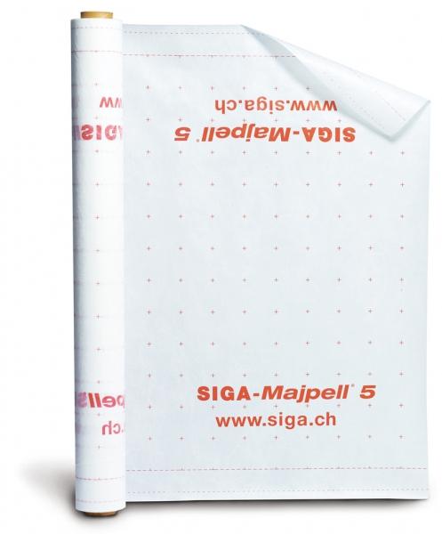 SIGA Majpell 5 Dampfbremsfolie für Zwischensparren- und Aufsparrendämmung - 1,5 x 20 m