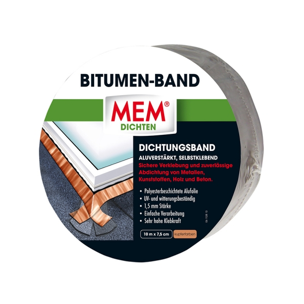 MEM Bitumen-Band - kupfer
