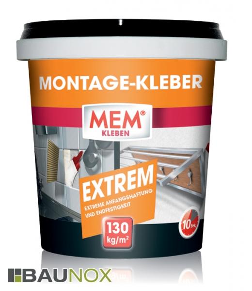 MEM MONTAGE-KLEBE EXTREM - 1kg Eimer