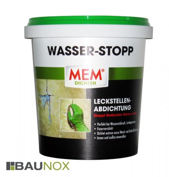 MEM WASSER-STOPP stoppt fließendes Wasser sofort!