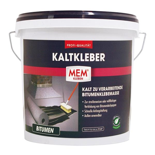 MEM PROFI-KALTKLEBER - Kalt zur verarbeitendende Bitumenklebemasse - 6,5kg