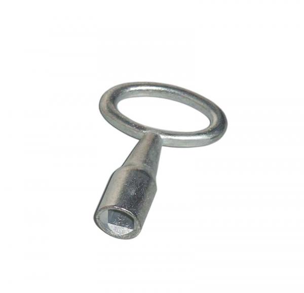 Vierkant-Dornschlüssel aus Stahlguss für Revisionstüren