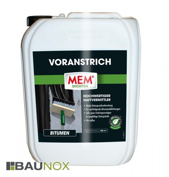 MEM VORANSTRICH ist die ideale Untergrundvorbereitung für Bitumenabdichtungen - 10 Liter