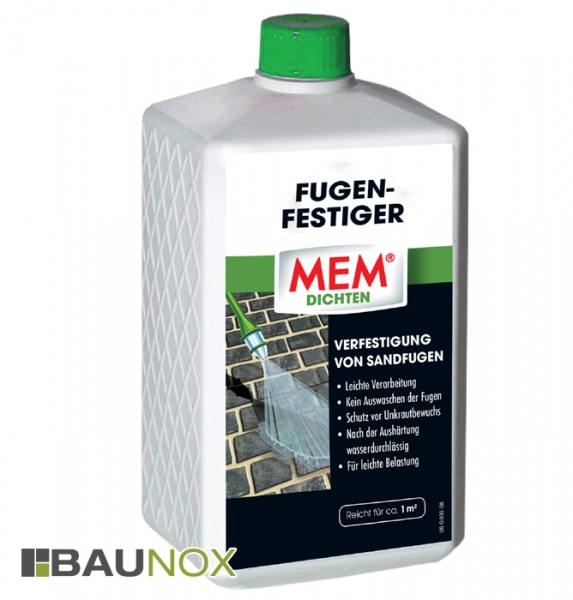 MEM FUGEN-FESTIGER schützt vor Unkrautwuchs
