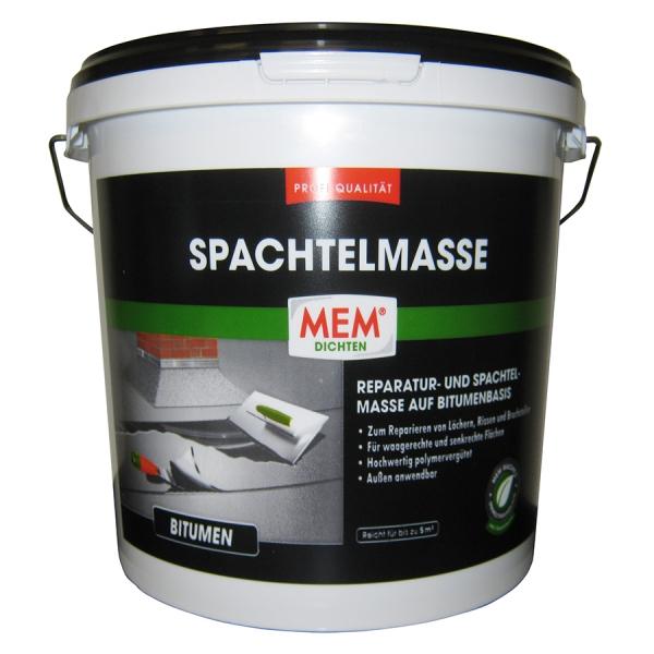 MEM PROFI-SPACHTELMASSE für Reparaturen und Ausbesserungen rund um´s Dach - 7kg