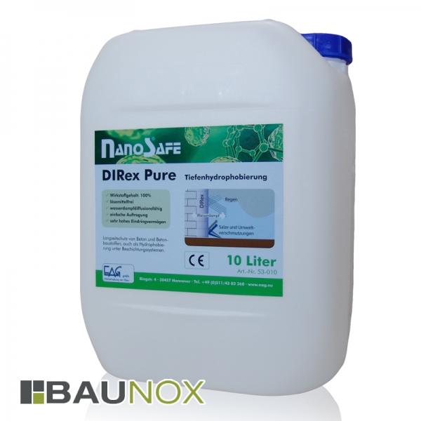 EAG NanoSafe® DIRex Pure - Tiefenhydrophobierung und Korrosionsinhibitor