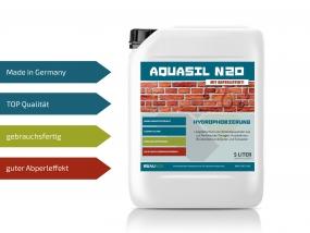 Baunox AQUASIL N20 - Fassadenschutz - 5 Liter