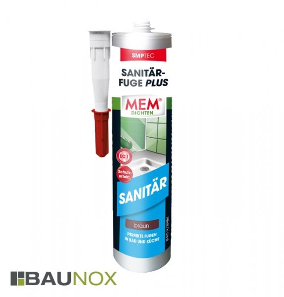 MEM SANITÄR-FUGE PLUS für perfekte Fugen in Bad und Küche [braun]
