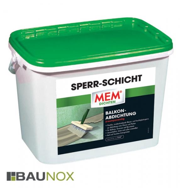 MEM SPERR-SCHICHT - die 2K Wasser- und Feuchtigkeitsperre