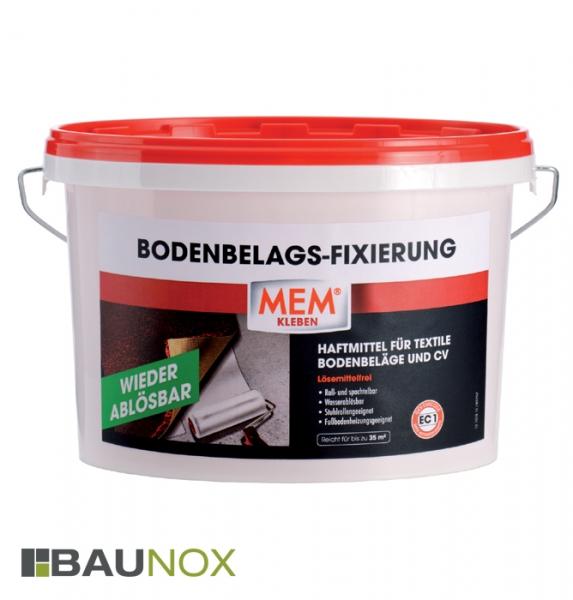 MEM BODENBELAGS-FIXIERUNG 3,5kg ist das Haftmittel für textile Bodenbeläge