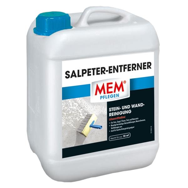 MEM SALPETER-ENTFERNER - Die Stein- und Wandreinigung vorn ungebetenen Gästen