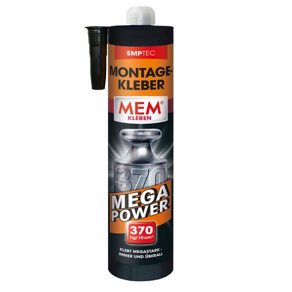 MEM MONTAGE-KLEBER - Für mega Halt!