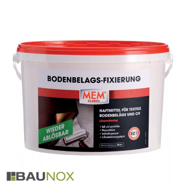 MEM BODENBELAGS-FIXIERUNG 6kg ist das Haftmittel für textile Bodenbeläge