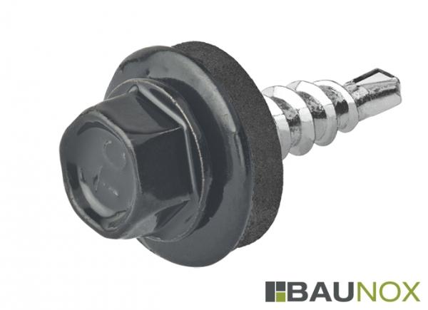 Trapezblechschrauben 4,8 x 20 mm - RAL9005